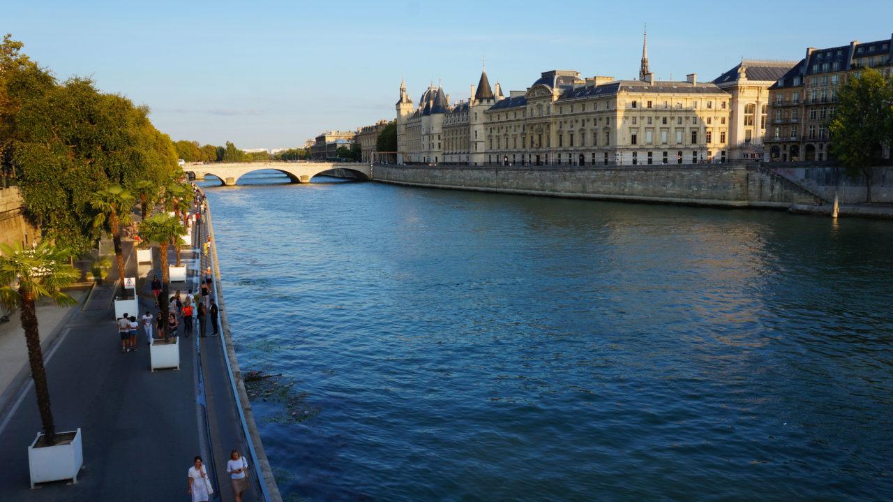 Париж за 2 дня: набережная Сены