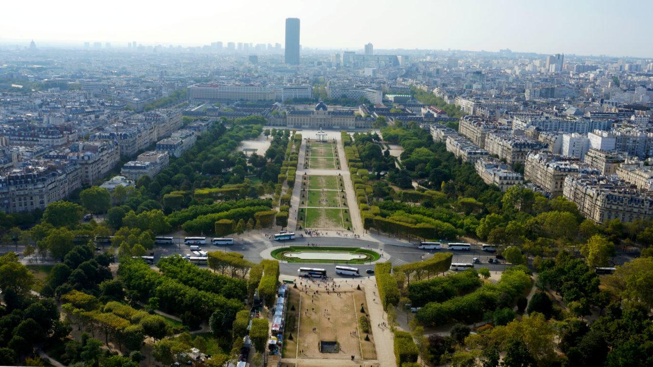 Париж за 2 дня: Смотровая площадка Эйфелевой башни