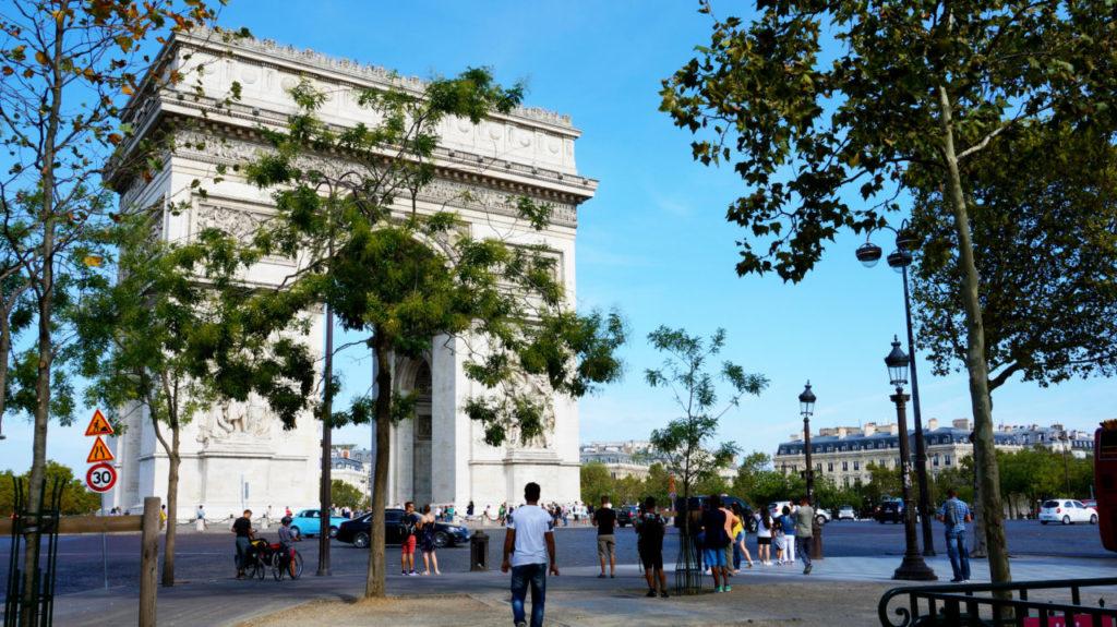 Париж за 2 дня: Триумфальная арка париж туры париж все об париже что смотреть париж Париж за 2 дня Paris 38 1024x575