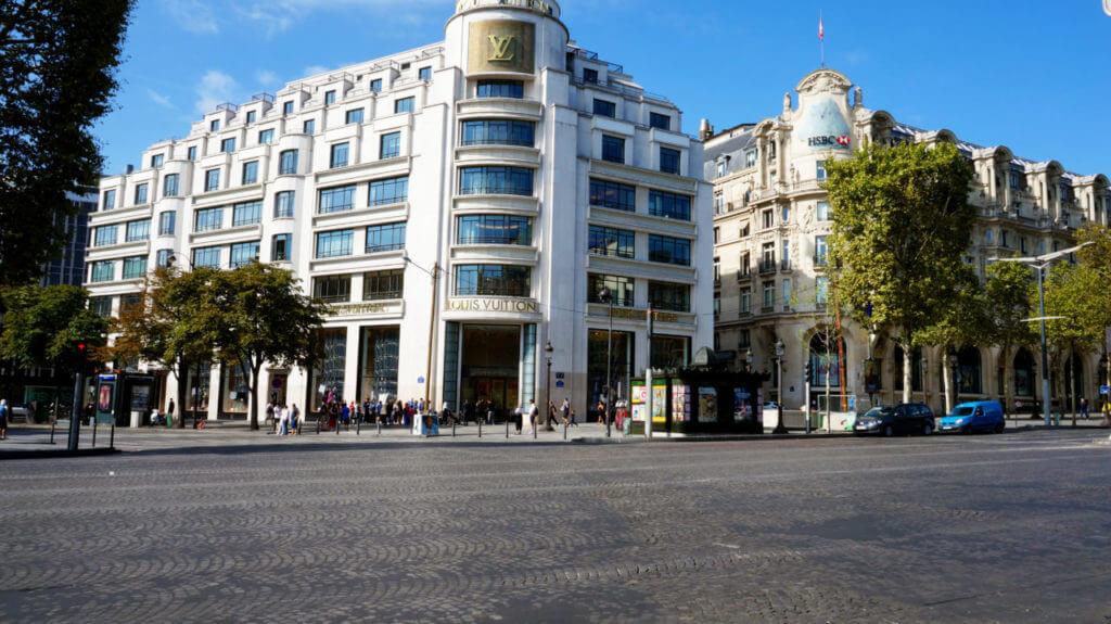 Париж за 2 дня: Елисейские поля париж туры париж все об париже что смотреть париж Париж за 2 дня Paris 41 1024x575