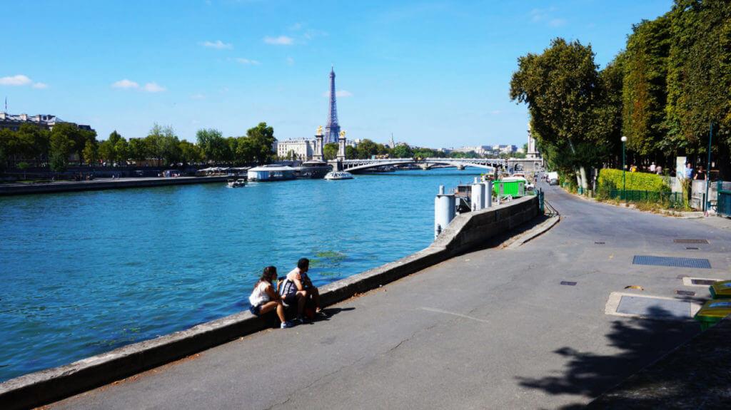 Париж за 2 дня: набережная Сены париж туры париж все об париже что смотреть париж Париж за 2 дня Paris 44 1024x575