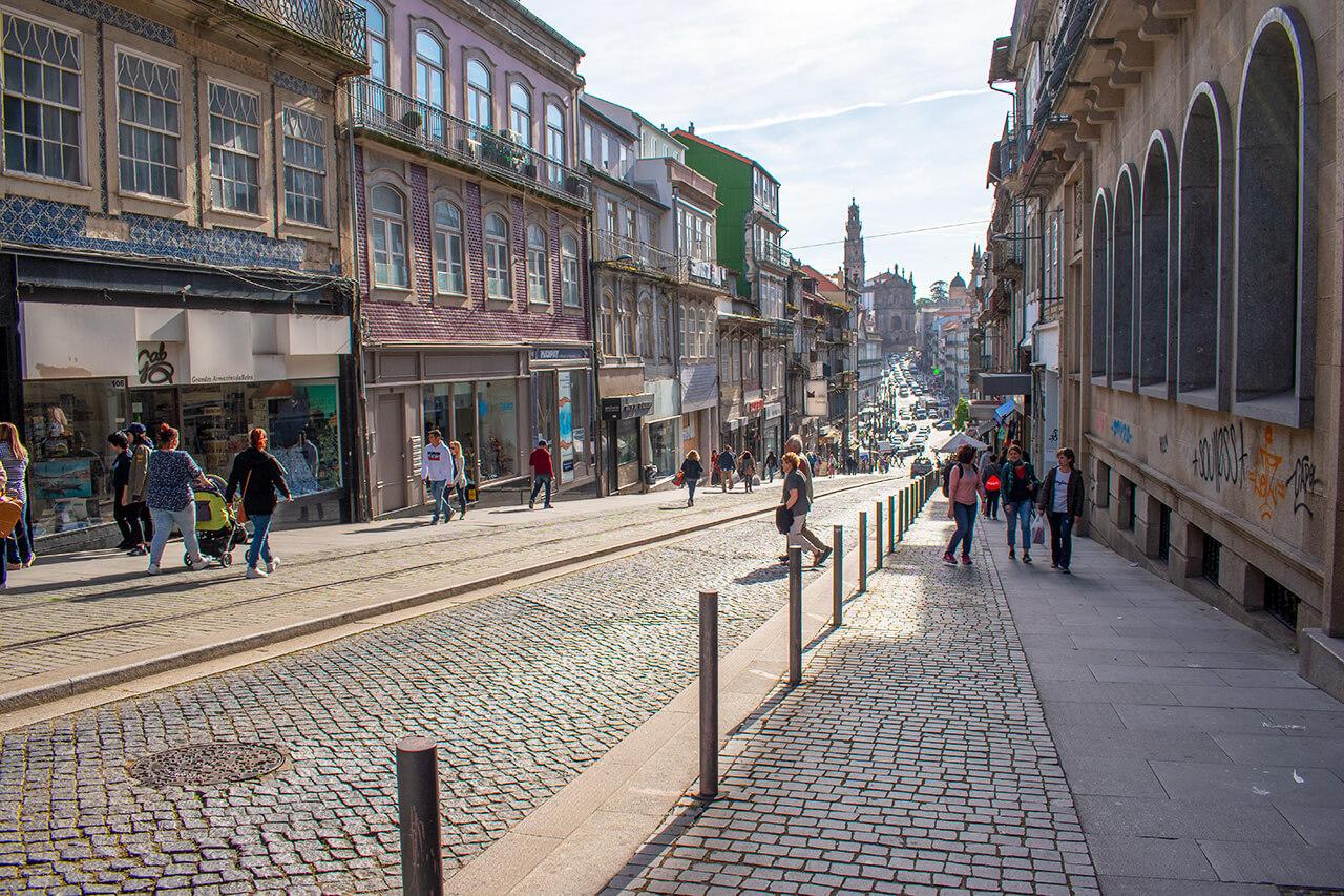 Порту, Португалия: шопинг