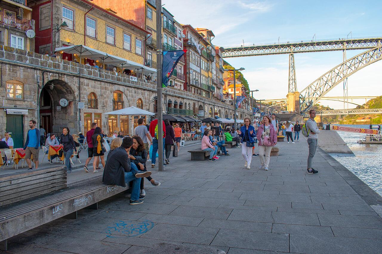 Порту Португалия: набережная Рибейра