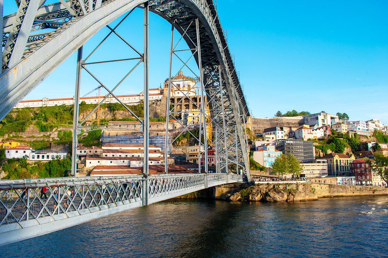 Порту, Португалия: Мост Понти-ди-Дон-Луиш I