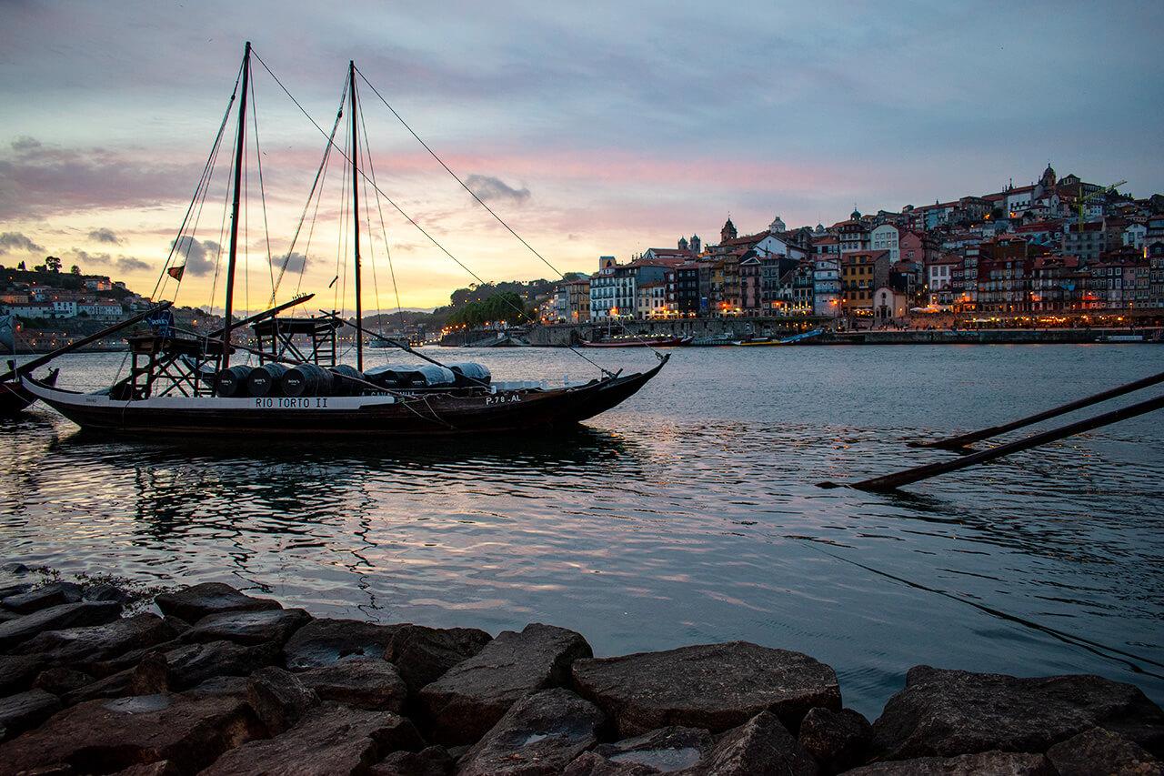 Порту, Португалия: набережная Av. De Diogo Leite