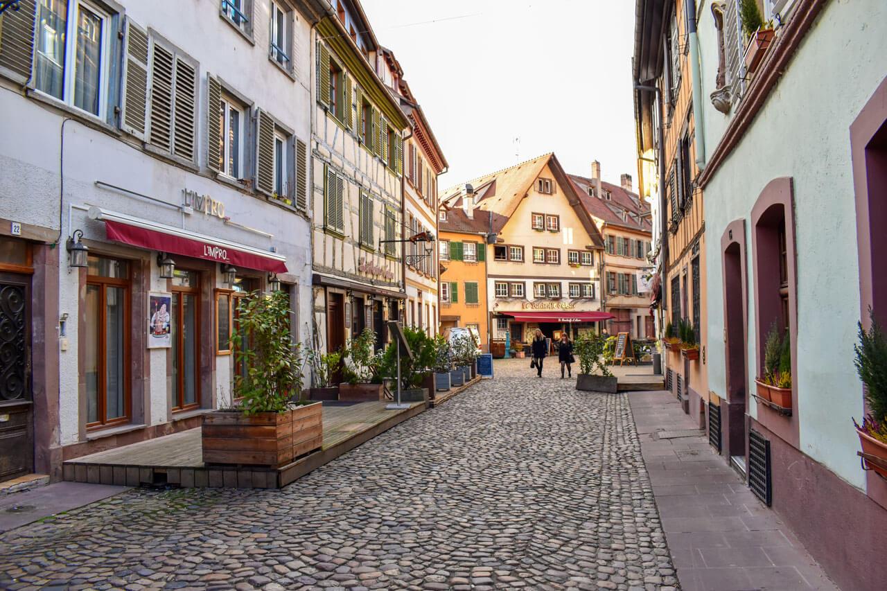 Страсбург, Франция - квартал Petit France