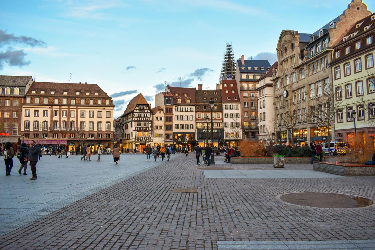 Страсбург, Франция - площадь Клебера