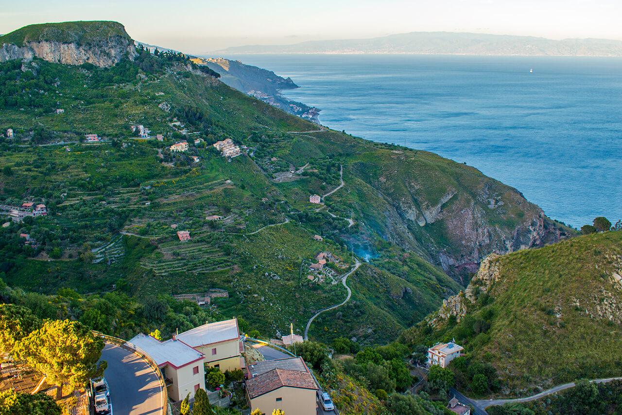 Таормина, Сицилия: деревня Кастельмола Таормина Таормина, Сицилия Taormina 19