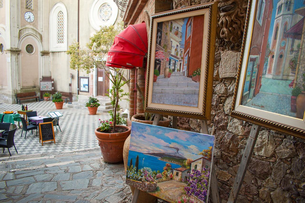 Таормина, Сицилия: деревня Кастельмола Таормина Таормина, Сицилия Taormina 26