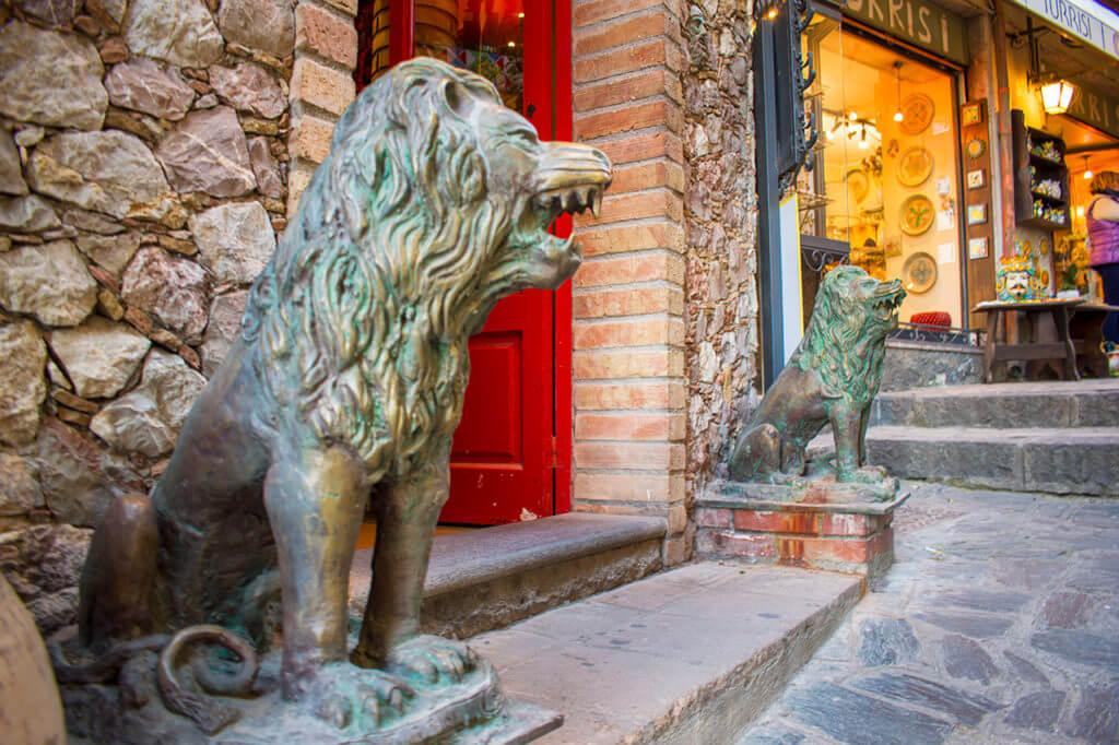 Таормина, Сицилия: деревня Кастельмола