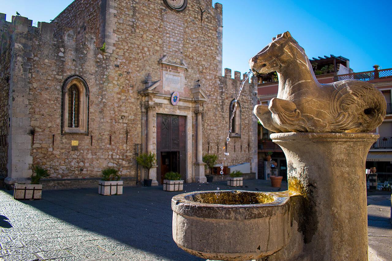 Таормина, Сицилия: Piazza Duomo Таормина Таормина, Сицилия Taormina 42