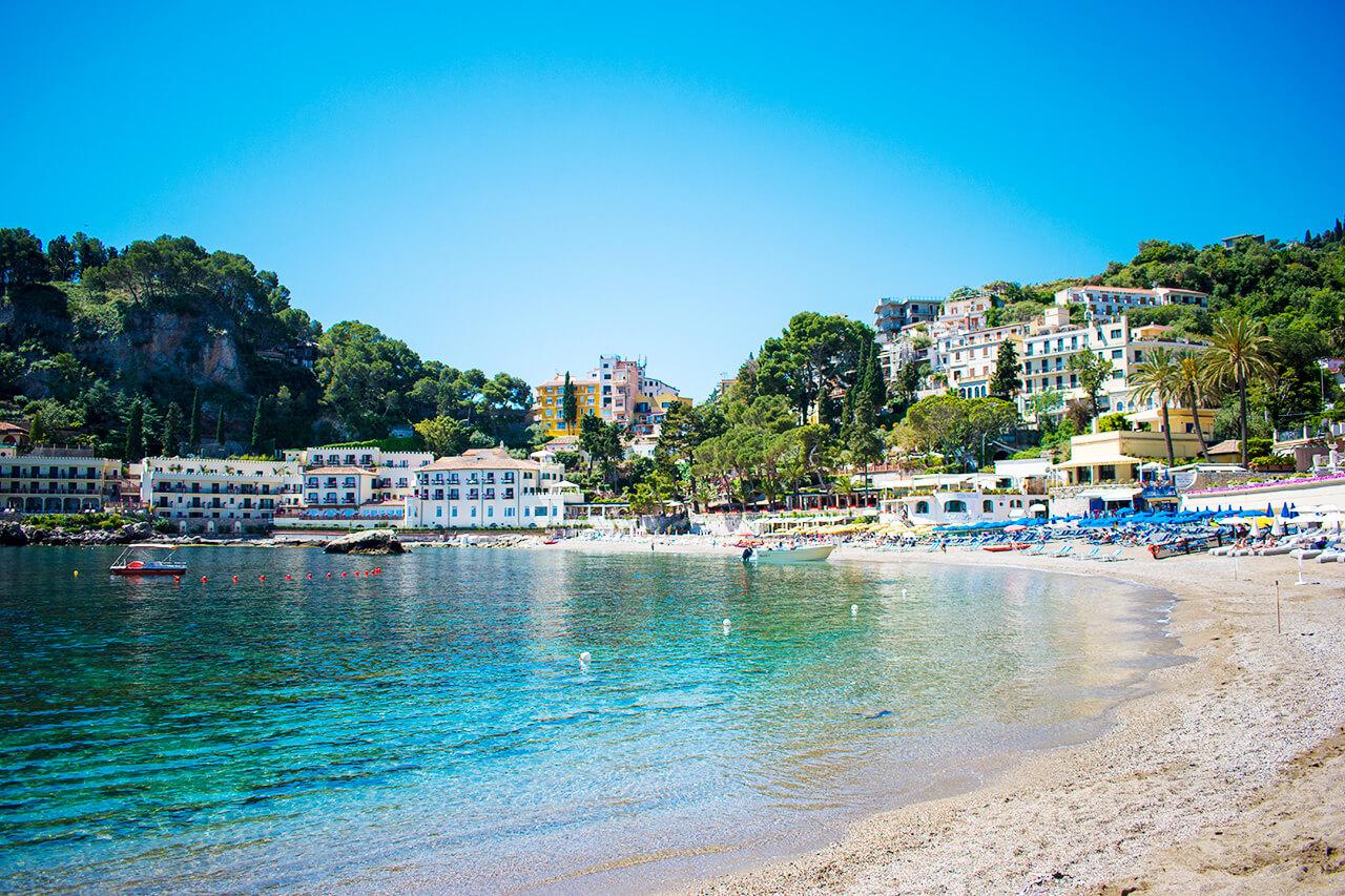 Таормина, Сицилия: пляж Mazzaro Таормина Таормина, Сицилия Taormina 56