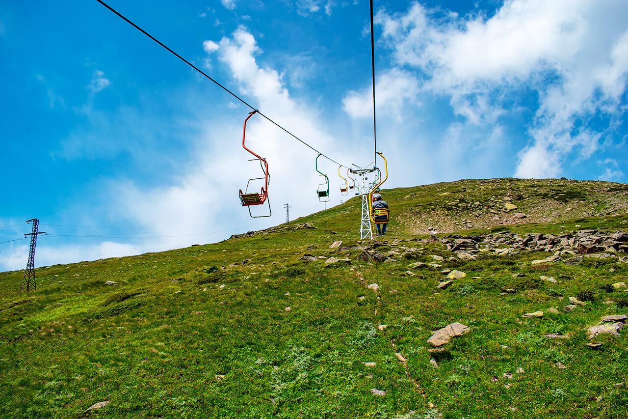 Терскол, Приэльбрусье: гора Чегет