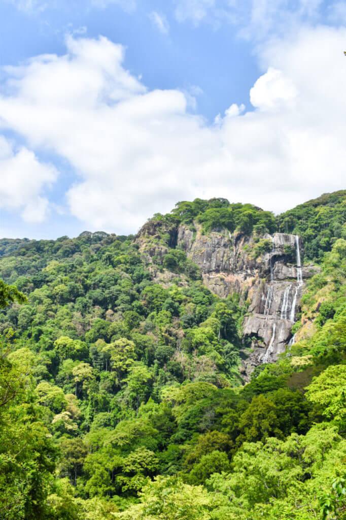 Удзунгва, Танзания - маршрут к водопаду Sanje