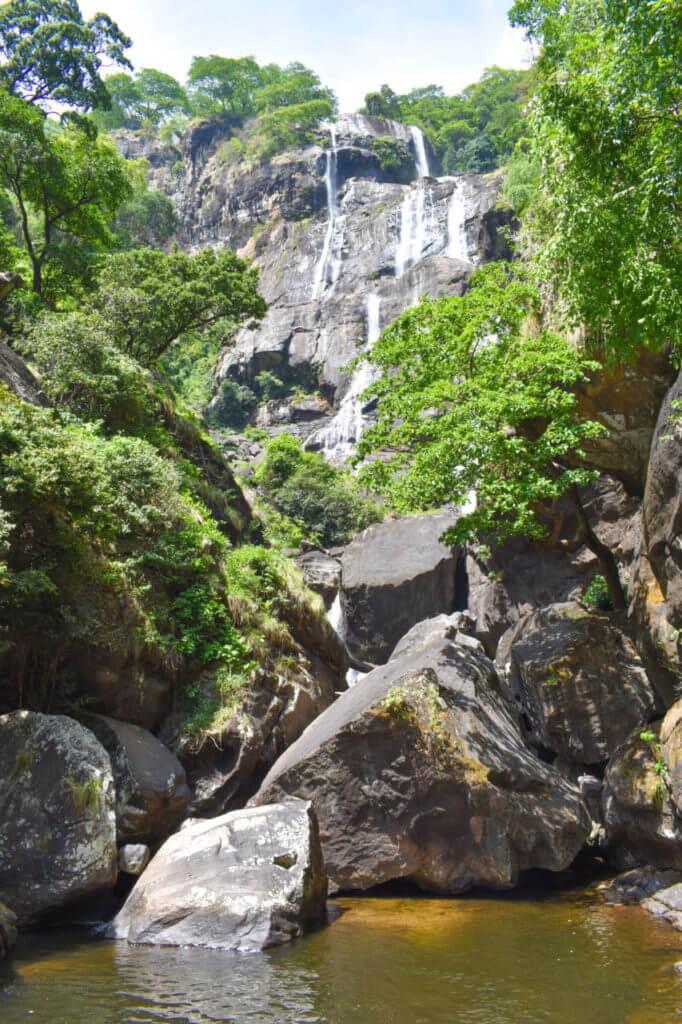Удзунгва, Танзания - водопад Sanje