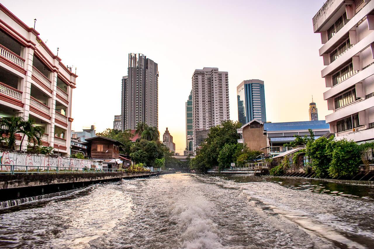 Бангкок за 1 день: клонг Saen Saep