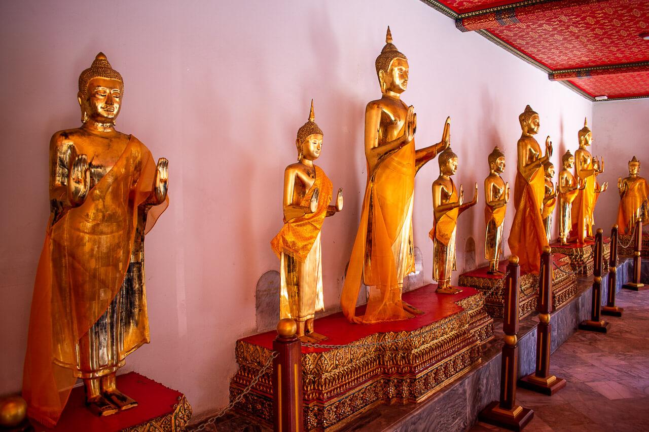 Бангкок за 1 день: храм лежачего Будды