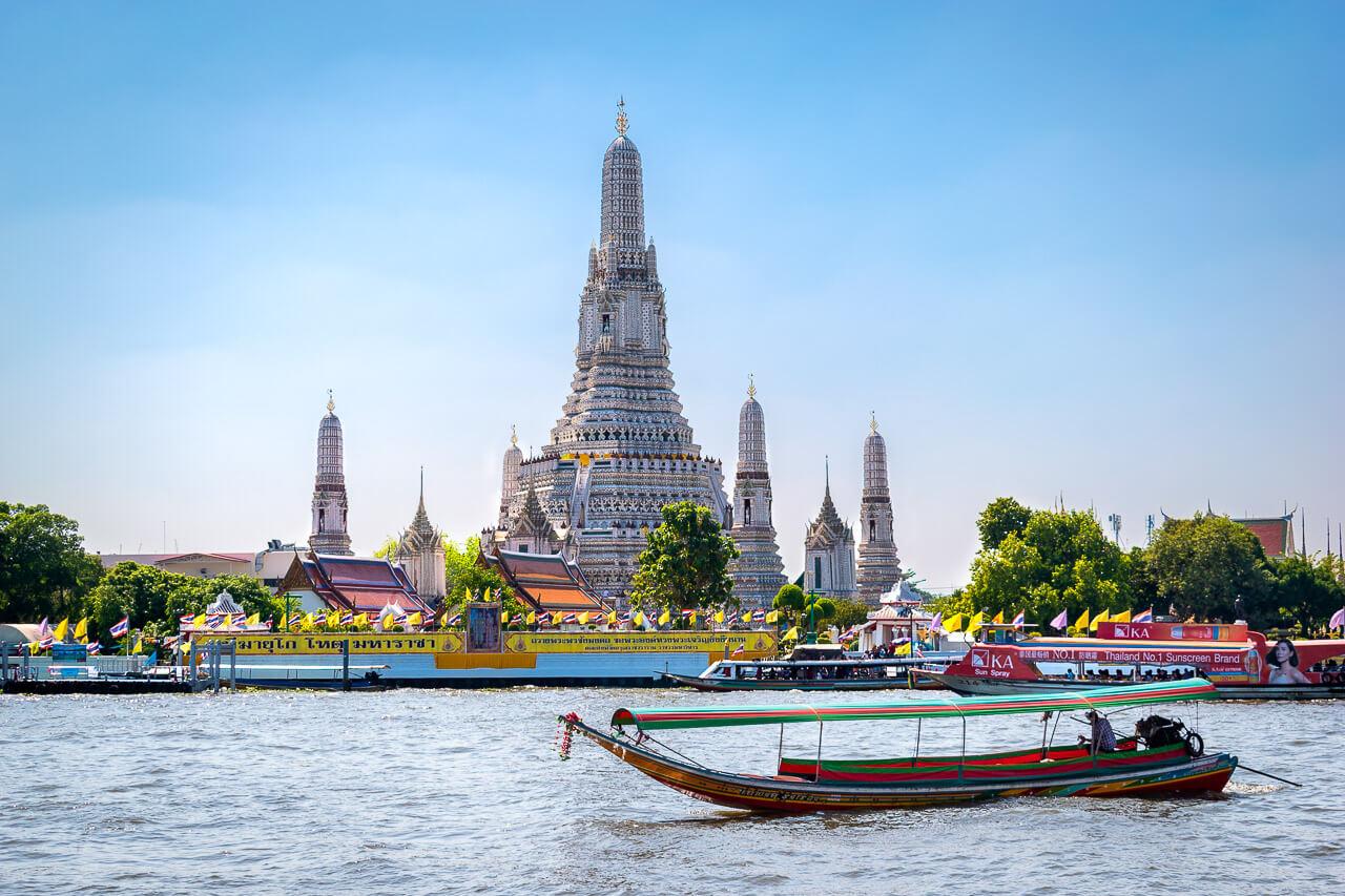 Бангкок за 1 день: храм Утренней Зари