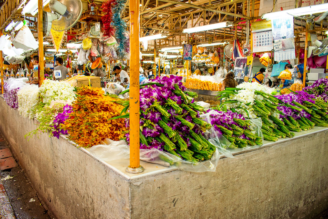 Бангкок за 1 день: цветочный рынок