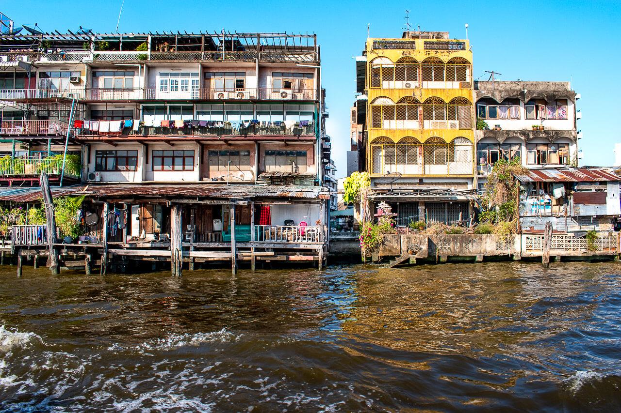 Бангкок за 1 день: на лодке по Чао Прайя