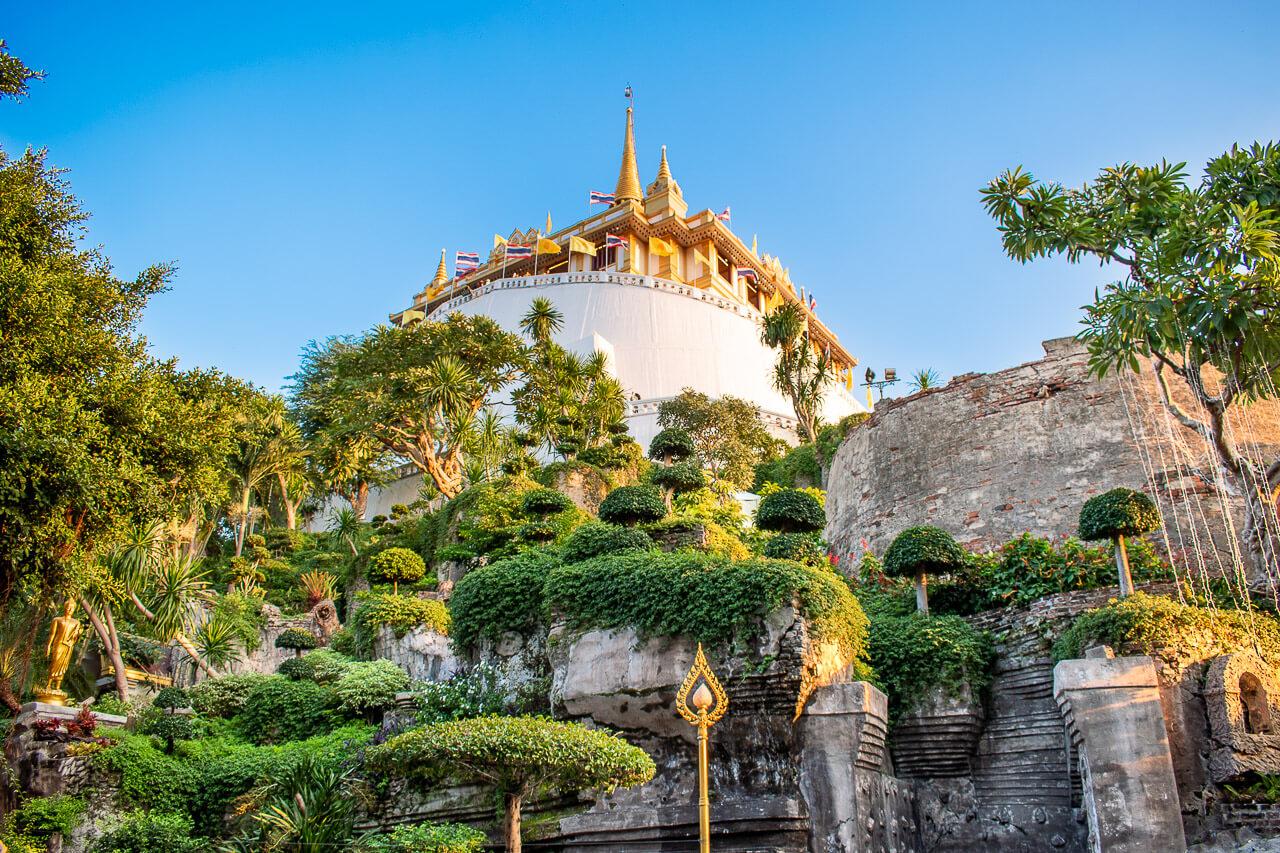 Бангкок за 1 день: храм Золотой горы