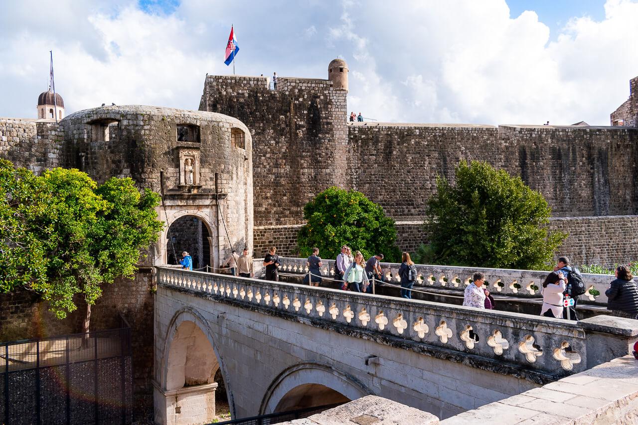 Дубровник, Хорватия: ворота Pile