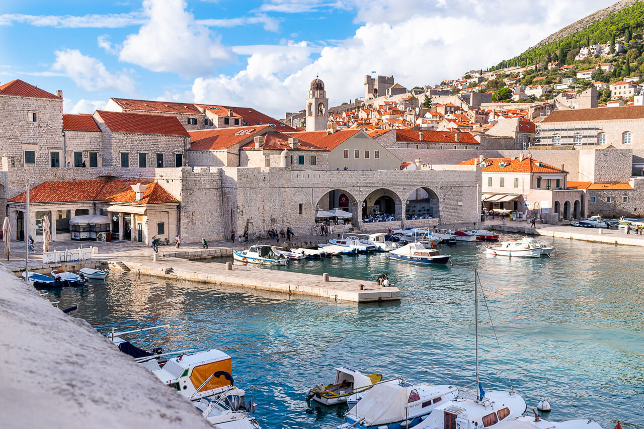 Дубровник, Хорватия: порт