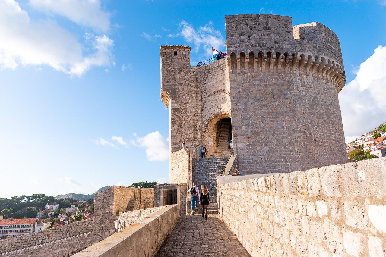 Дубровник, Хорватия: башня Minceta