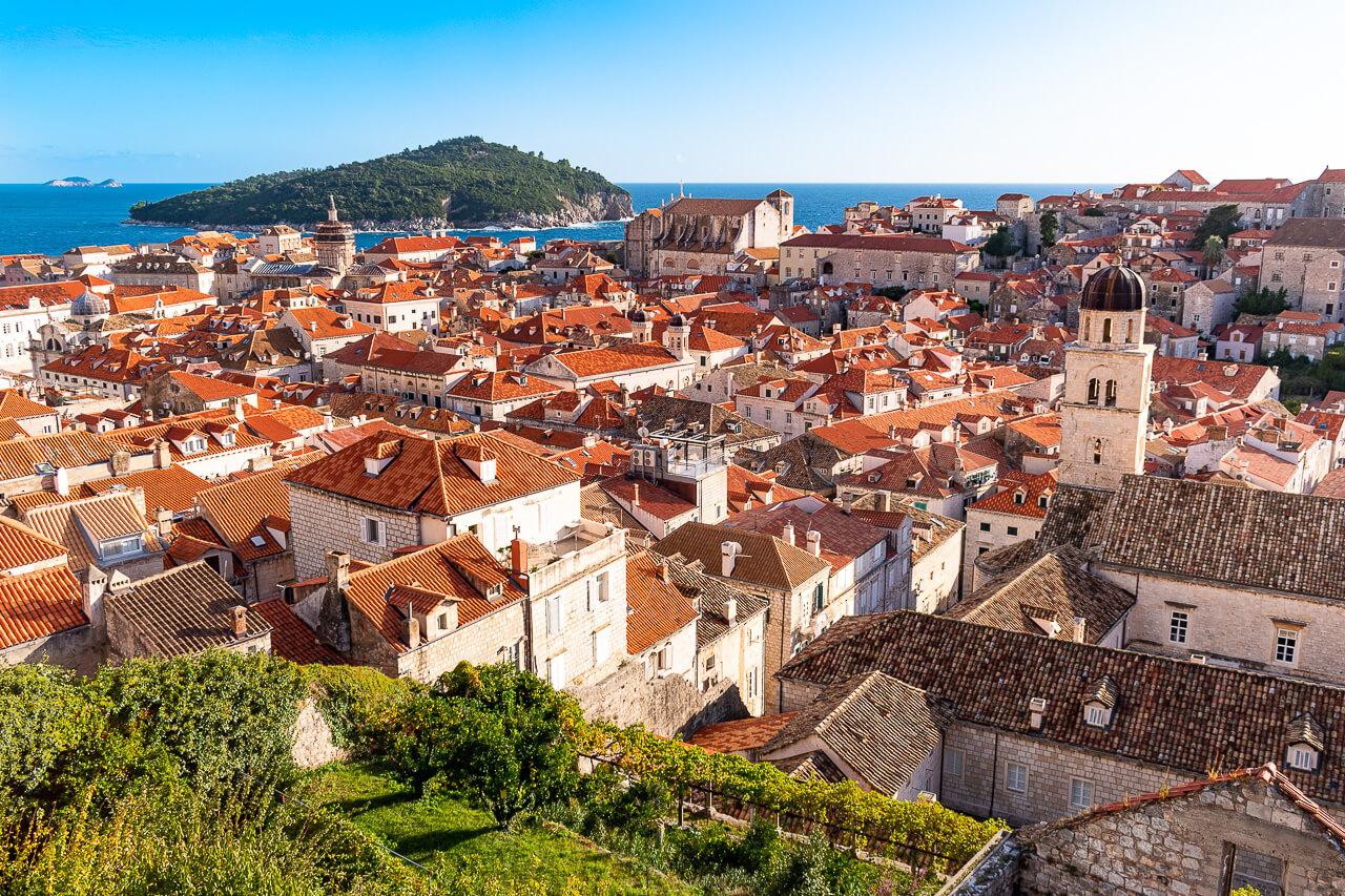 Дубровник, Хорватия: городская стена