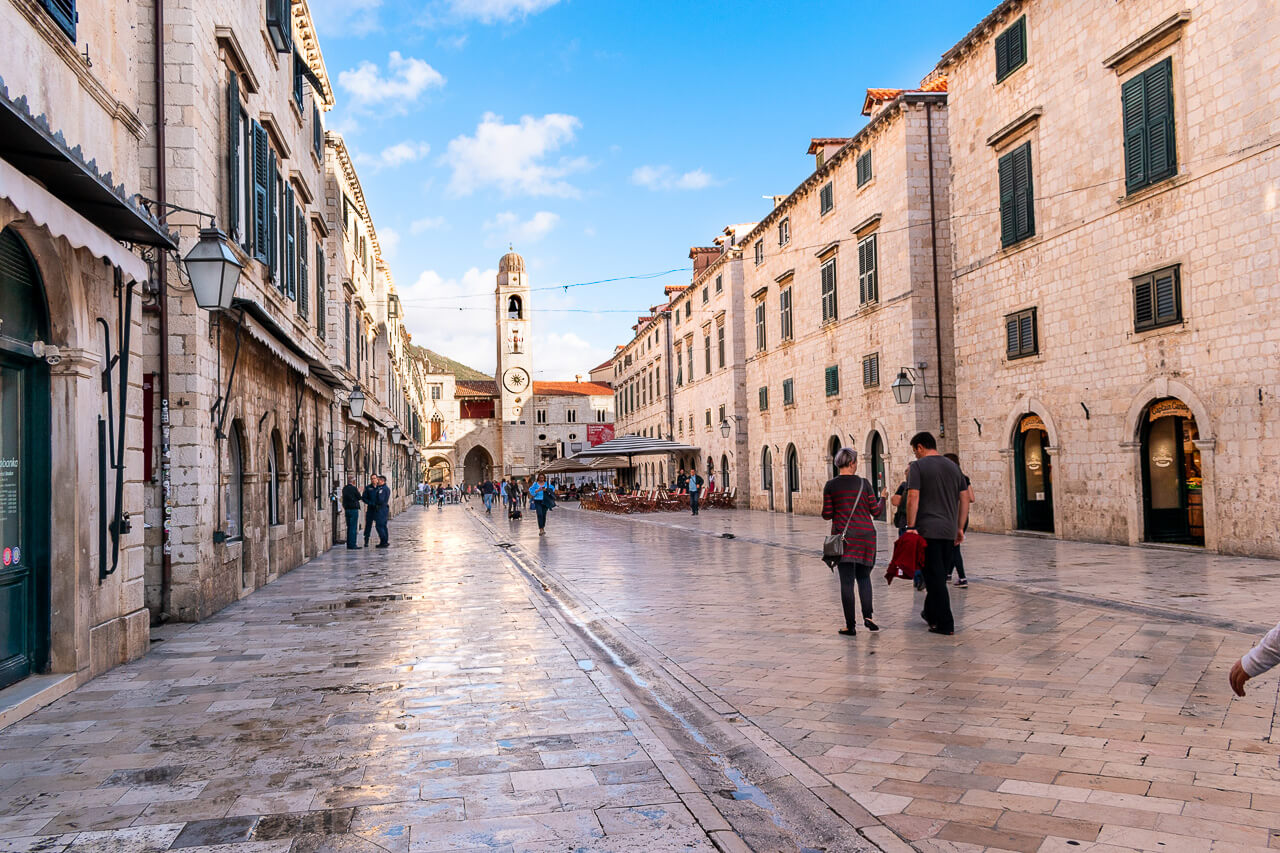 Дубровник, Хорватия: улица Stradun