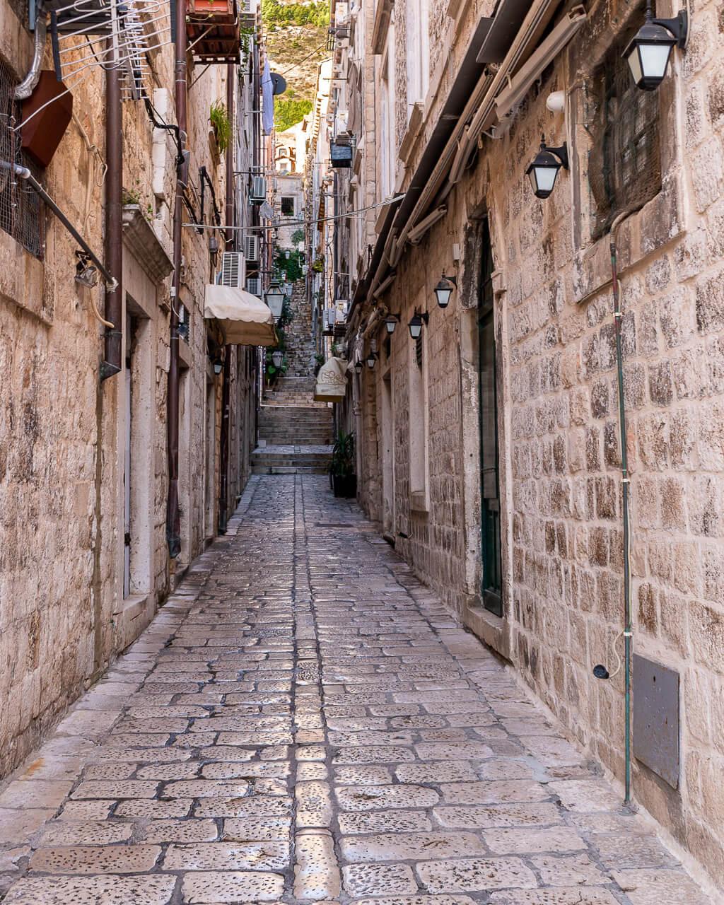 Дубровник, Хорватия: улицы