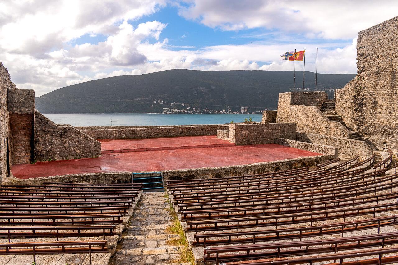 Херцег-Нови, Черногория: крепость Канли-Кула