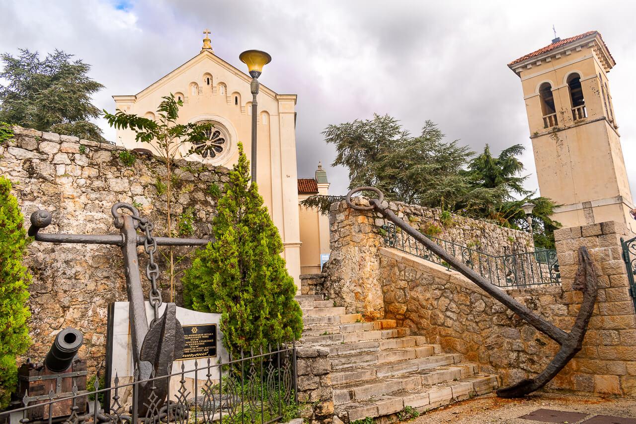 Херцег-Нови, Черногория: площадь Святого Иеронима