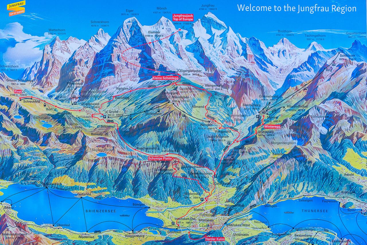 Регион Юнгфрауйох, Швейцария