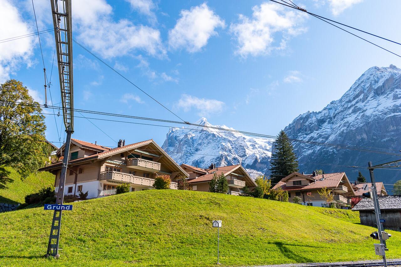 Юнгфрауйох, Швейцария: станция Гриндельвальд