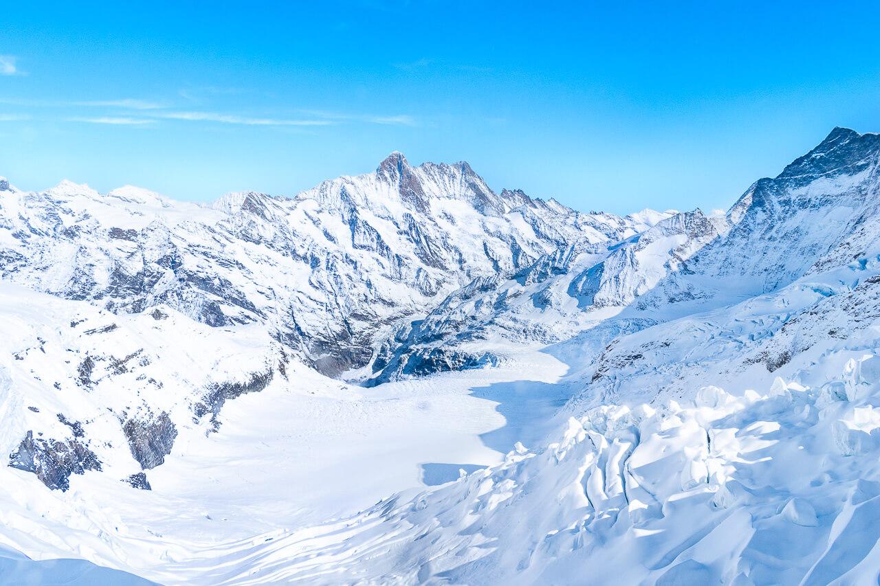 Юнгфрауйох, Швейцария: Eismeer