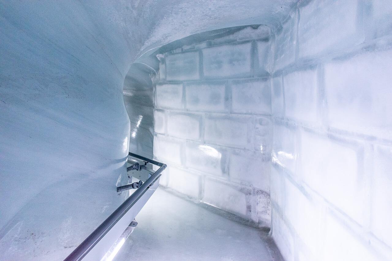 Юнгфрауйох, Швейцария: ледяной дворец