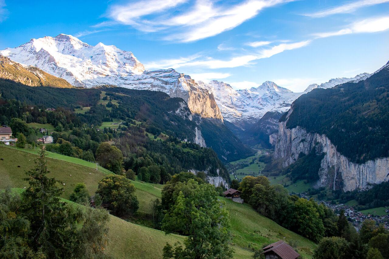 Юнгфрауйох, Швейцария