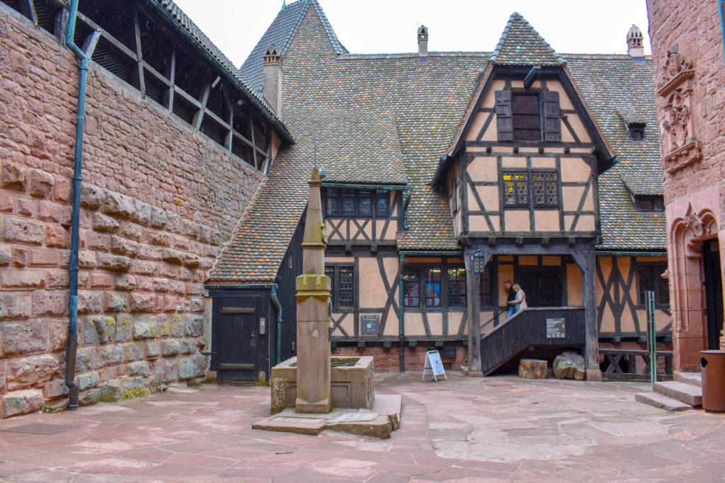 Замок Верхний Кенигсбург, Эльзас