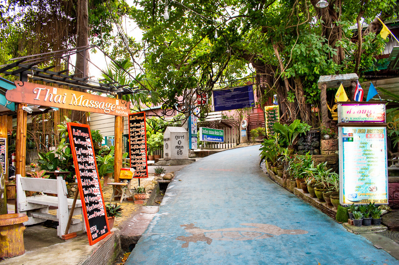 Ко Липе, Таиланд: улица Walking Street