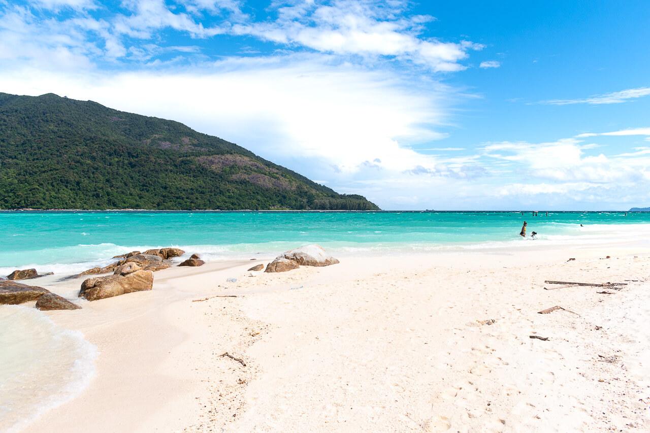 Ко Липе, Таиланд: пляж Bulow beach