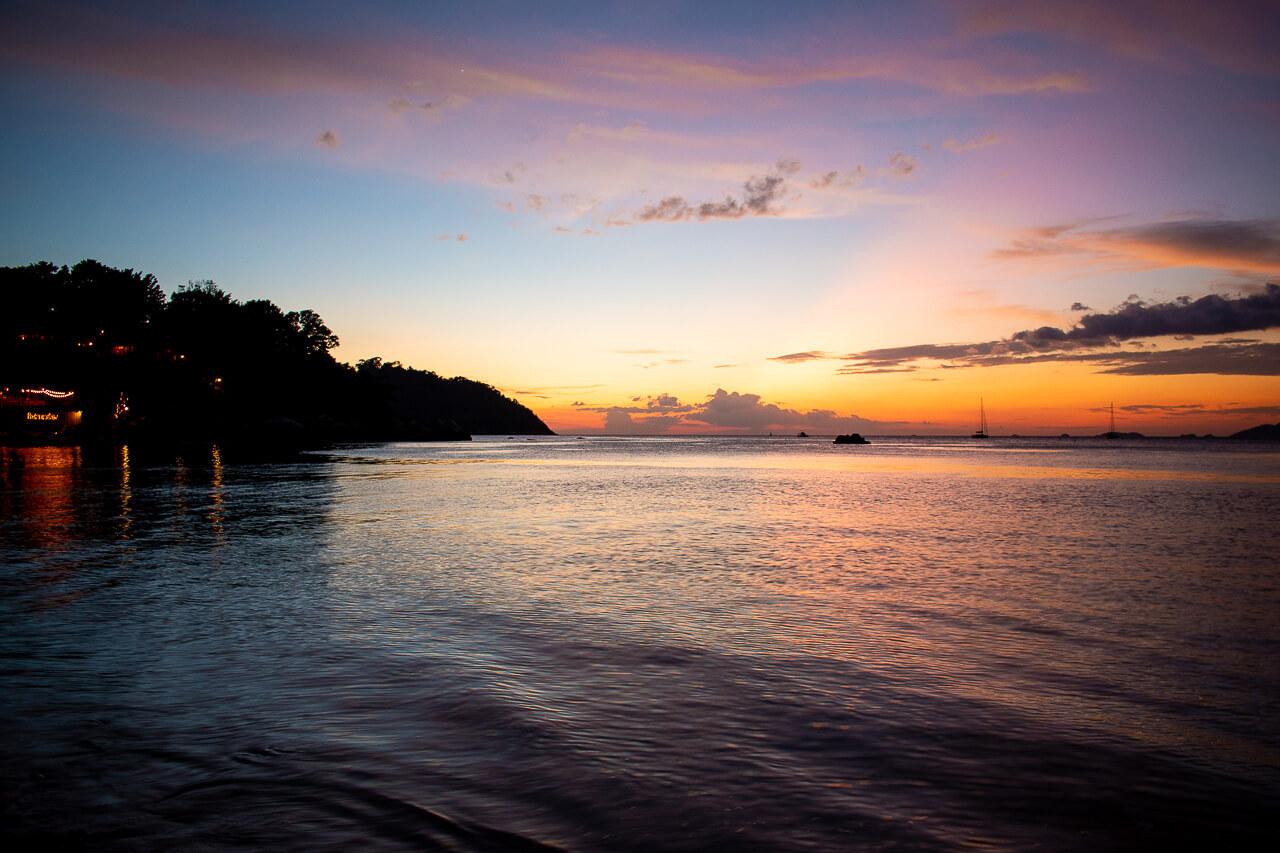 Ко Липе, Таиланд: пляж Sunset beach