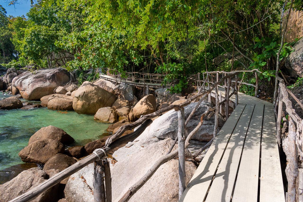 Ко Липе, Таиланд: пляж Sanom Beach