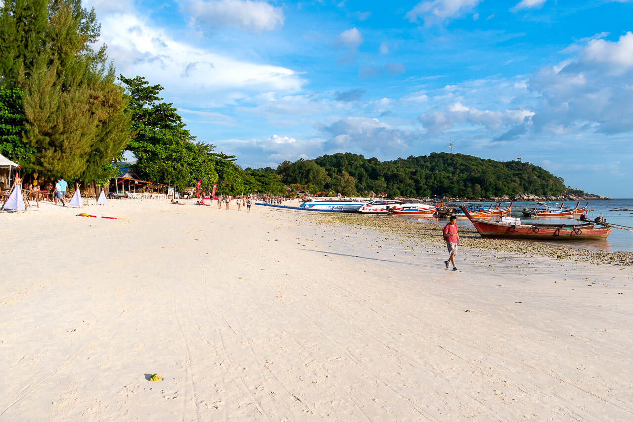 Ко Липе, Таиланд: пляж Pattaya Beach