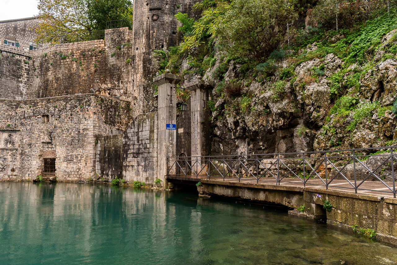 Котор, Черногория: ворота Гурдича