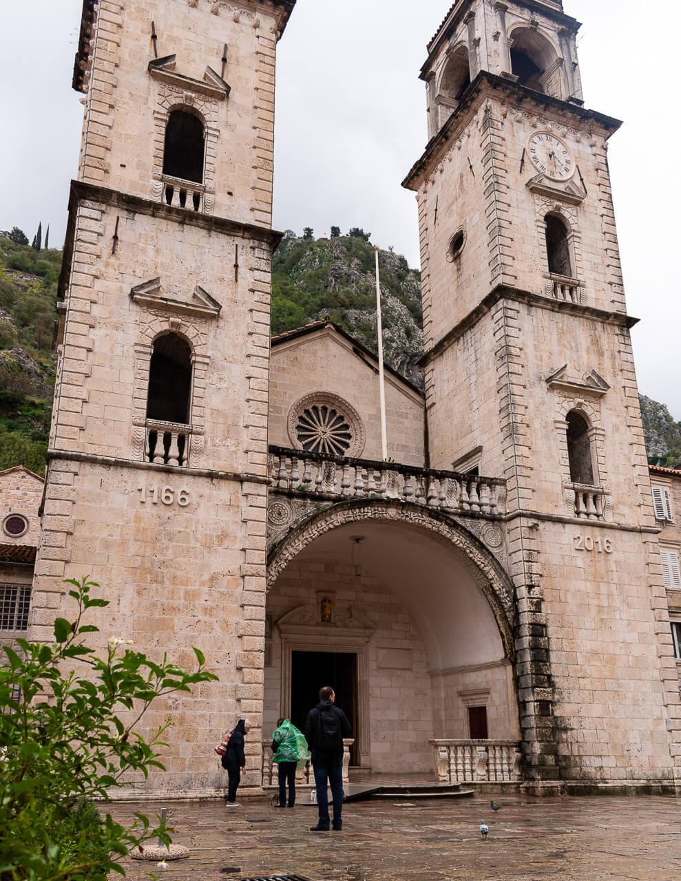 Котор, Черногория: собор Святого Трифона