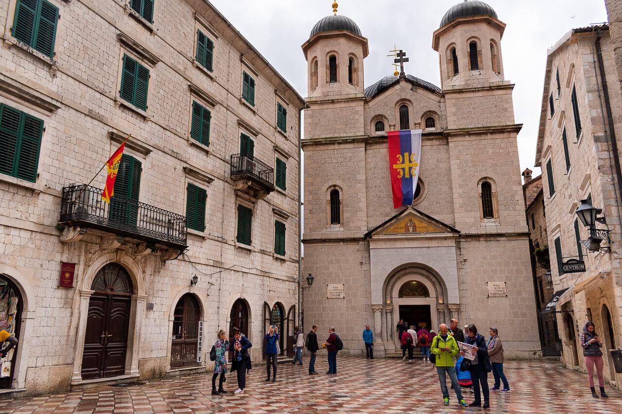 Котор, Черногория: церковь Святого Николая
