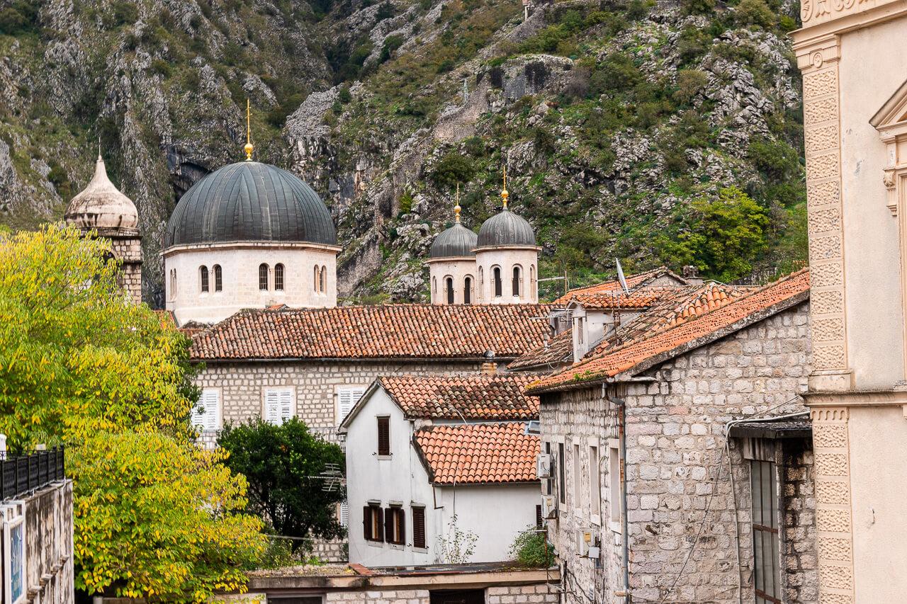 Котор, Черногория: смотровая Kampana Tower