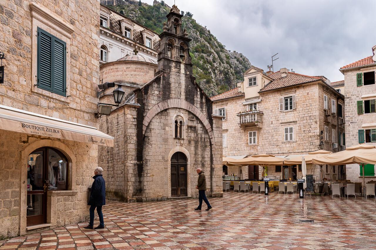 Котор, Черногория: церковь Святого Луки