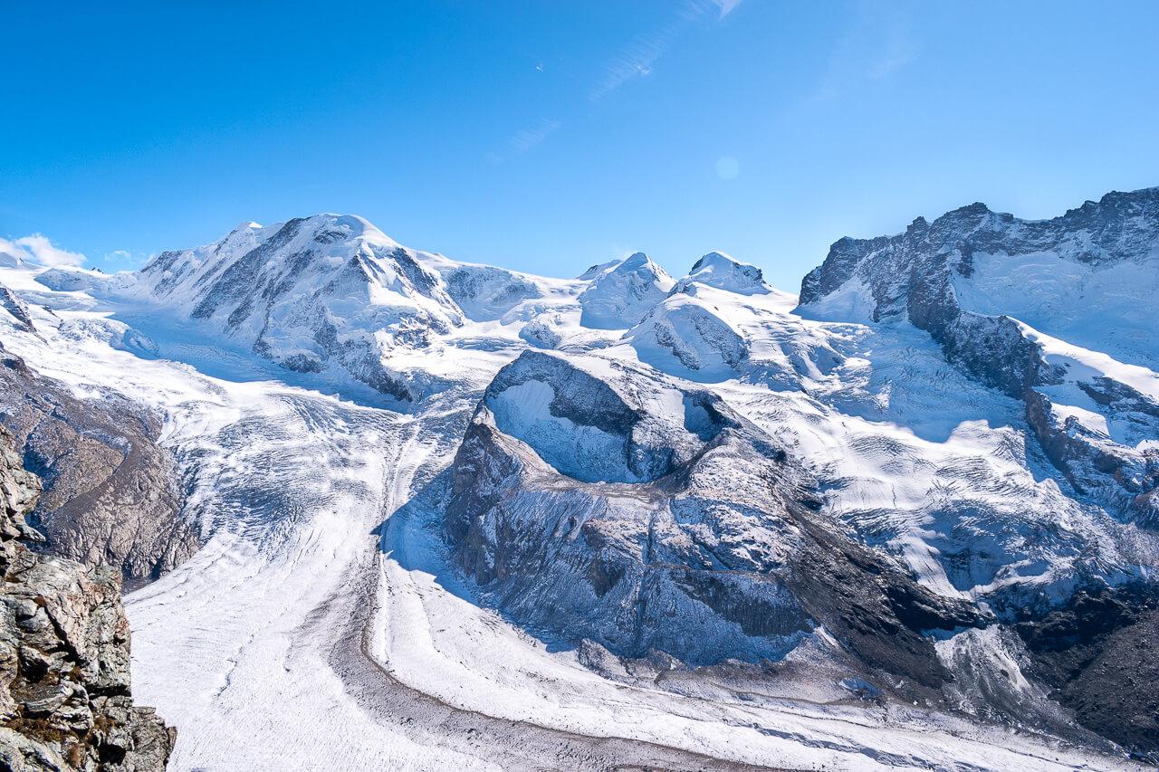 Смотровая Gornergrat, Швейцария